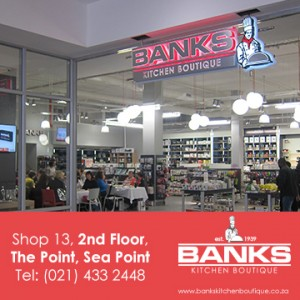 Banks Kitchen Boutique Kitchenware in Sea Point