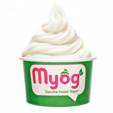 Myog premium frozen yogurt in Sea Point, Cape Town