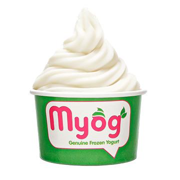 Myog Genuine Frozen Yogurt in The Point, Sea Point
