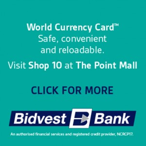 Buy World Currency Cards at Bidvest Bank in Sea Point