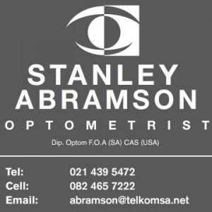 Stanley Abramson Optometrist in Sea Point, Cape Town