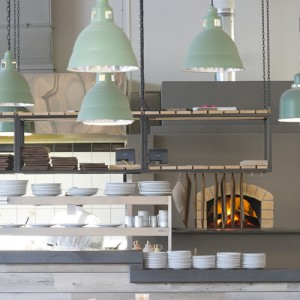 Knead Bakery's kitchen in Sea Point, Cape Town