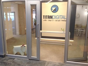 Exterior of Titan Digital at The Point