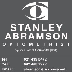 Stanley Abramson Optometrist in Sea Point, Cape Town