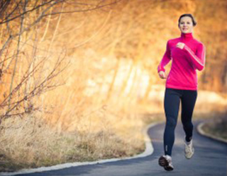 Fitness and exercise clothes for winter