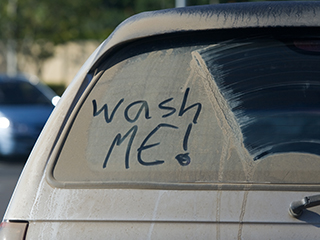 Dirty car – damaging your ride, wallet and image!