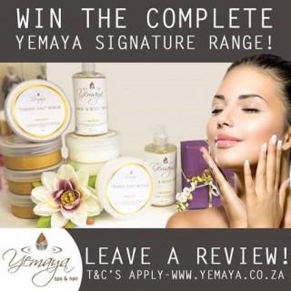 Win the entire Yemaya Signature Range!