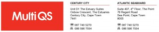 Multi Quantity Surveyors in The Point, Sea Point