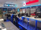 Interior of Cellucity shop