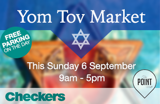 Yom Tov Market at The Point Mall in Sea Point